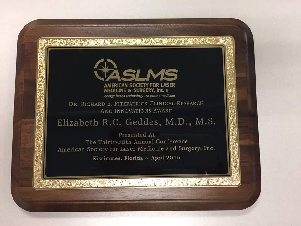 Dr. Elizabeth Geddes